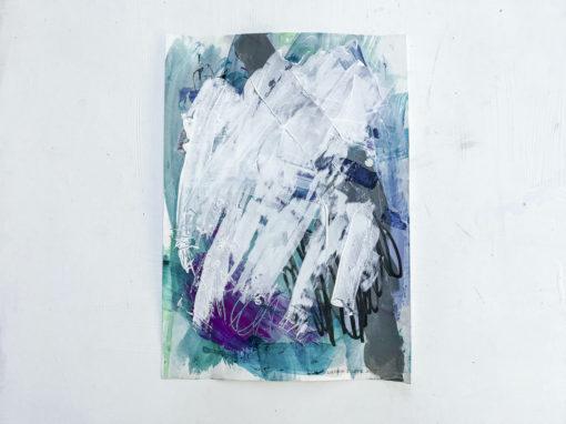 Green no 2 abstract painting