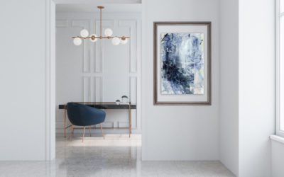 Few Last Paintings from Blue Series | Abstract Art For Your Home